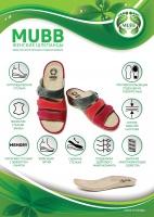 Шлепанцы женские BOX BEIGE 16020 Mubb