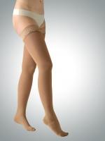 Чулки антиварикозные с носком, тонкие, с кружевом АВИЦЕНУМ 360 2 класс, Aries