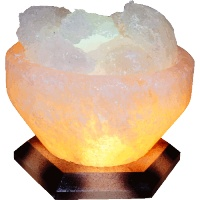 Соляной светильник 'Чаша огня' (3-4 кг), 'Артёмсоль'