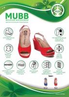 Женские ортопедические босоножки 597 soleil Mubb