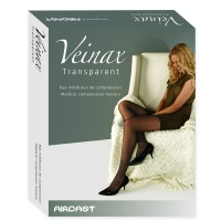 Чулки компрессионные медицинские прозрачные Transparent 832R класс 2 Veinax