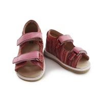 Сандалии детские BabyLight розовая зебра Ortofoot