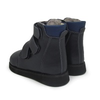 Ботинки зимние синие Ortofoot