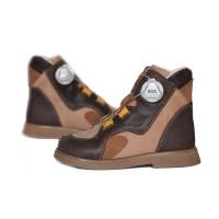 Ботинки детские ортопедические Oroto Cross Premium 621 Brow Ortofoot