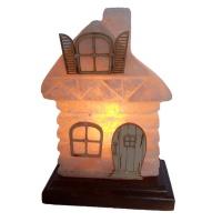 Сказочный домик маленький Соляной светильник 2,5 кг Ваше Здоровье