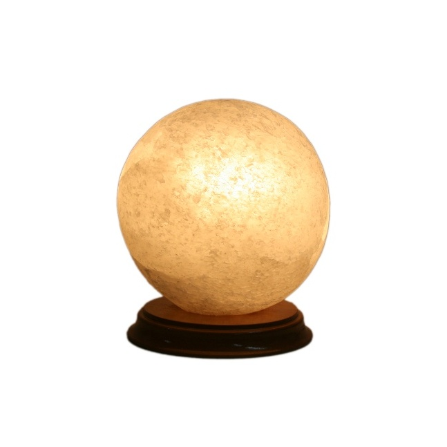 Соляной светильник 'Шар малый' (2,5 кг), Ваше Здоровье