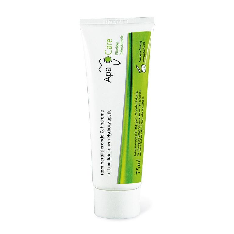 Pеминерализирующая зубная паста ApaCare® 'Жидкая эмаль' 75 мл