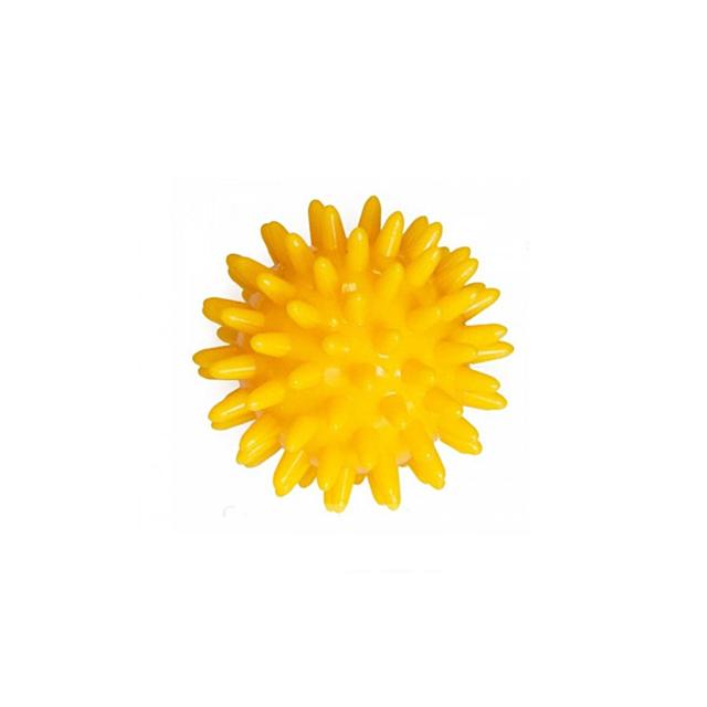 Мячик массажный, ПВХ, размер 6 см, желтый Doctor Life