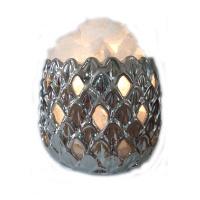 Соляной светильник 2-го уровня Ананас керамика ( 3,4 кг )