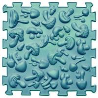 Массажный коврик Микс Пазлы 8 элементов з игрой Лесные приключения Ortek