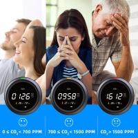 Термогигрометр з датчиком CO2 PROTMEX PTH-5